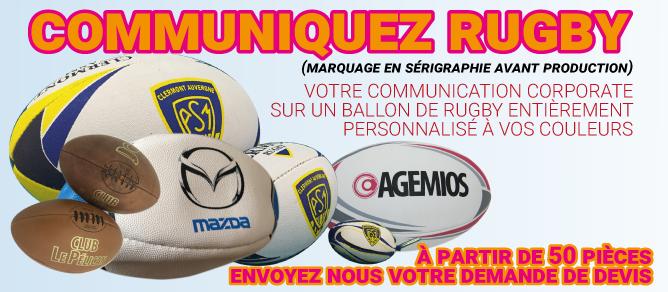 Précisez : demande spéciale Ballons de Rugby